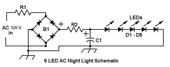 night light schematic diagram